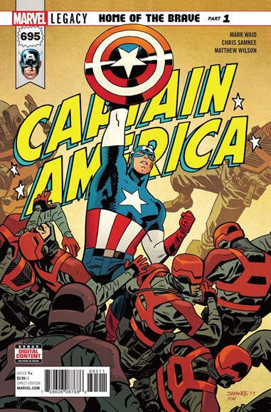 Captain America Cover - 1/1/2018