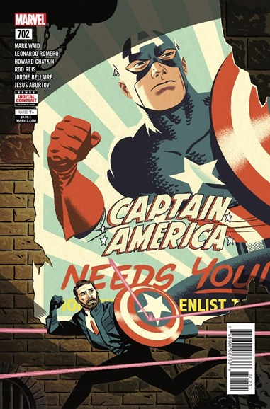 Captain America Cover - 7/16/2018