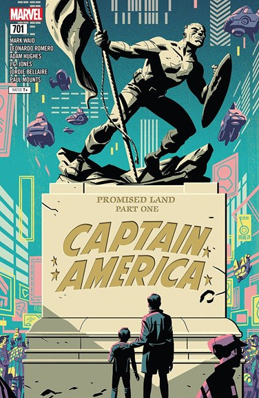Captain America Cover - 7/1/2018