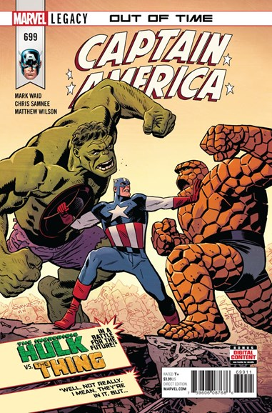 Captain America Cover - 5/1/2018