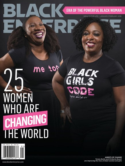 Black Enterprise Cover - 1/1/2018