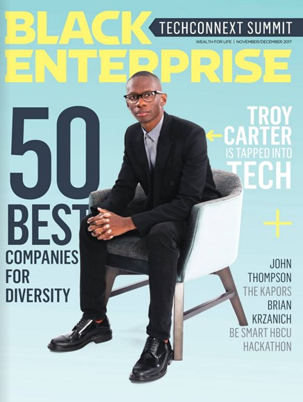 Black Enterprise Cover - 11/1/2017