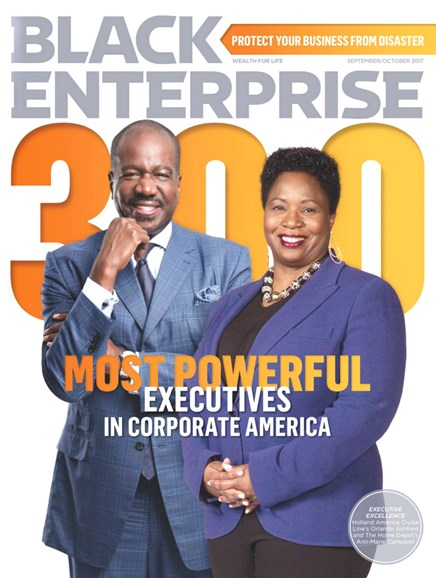 Black Enterprise Cover - 9/1/2017