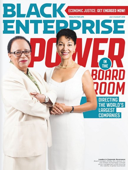 Black Enterprise Cover - 7/1/2016