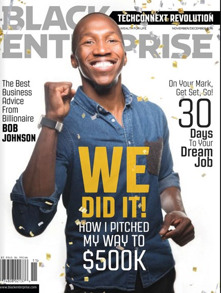 Black Enterprise Cover - 11/1/2016