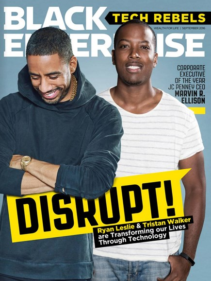 Black Enterprise Cover - 9/1/2016