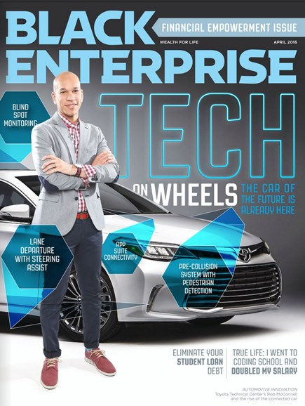 Black Enterprise Cover - 4/1/2016