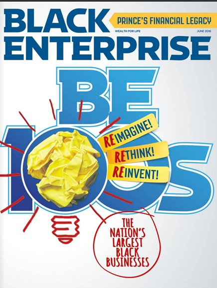 Black Enterprise Cover - 6/1/2016