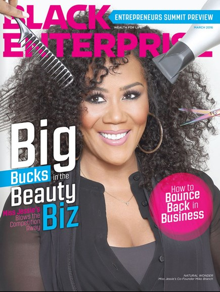 Black Enterprise Cover - 2/1/2016