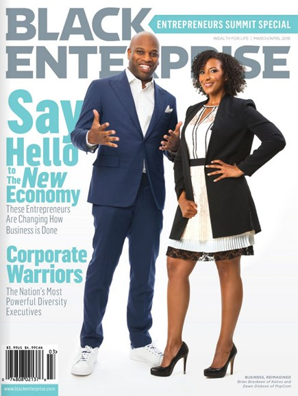 Black Enterprise Cover - 3/1/2018