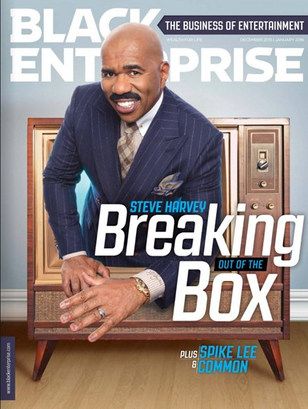 Black Enterprise Cover - 12/1/2015