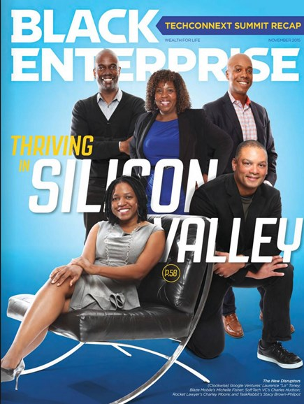Black Enterprise Cover - 11/1/2015