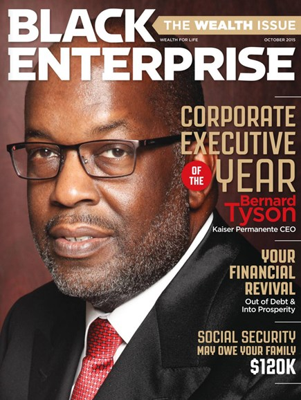 Black Enterprise Cover - 10/1/2015