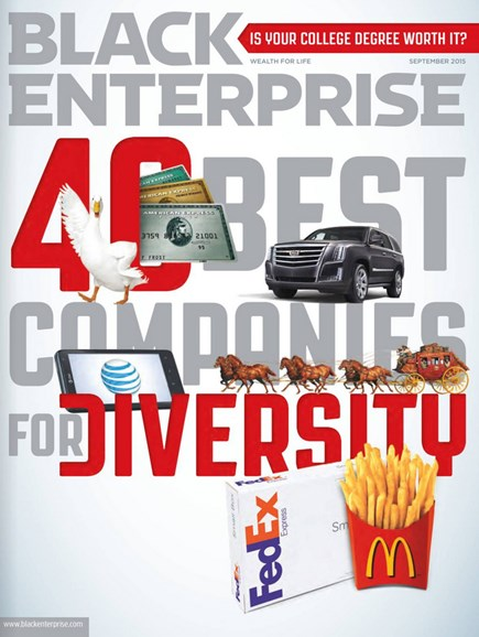 Black Enterprise Cover - 9/1/2015