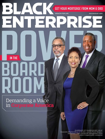 Black Enterprise Cover - 7/1/2015