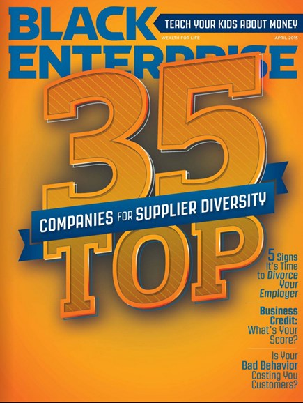 Black Enterprise Cover - 4/1/2015