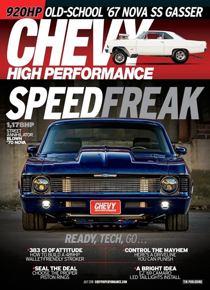 Chevy High Performance Cover - 7/1/2018