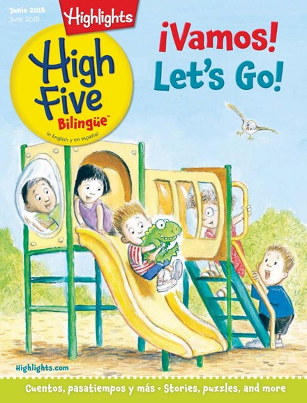 Highlights High Five Bilingue Cover - 6/1/2018