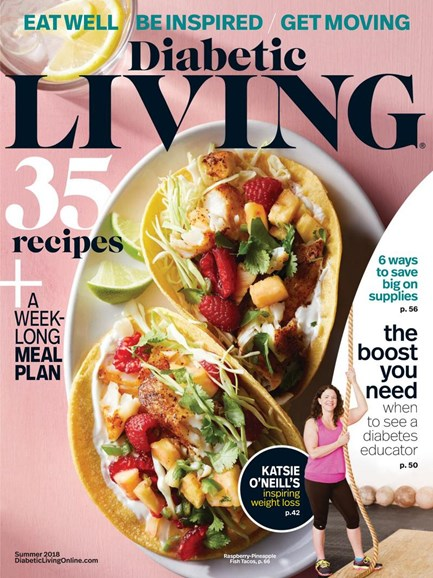 Diabetic Living Cover - 6/1/2018