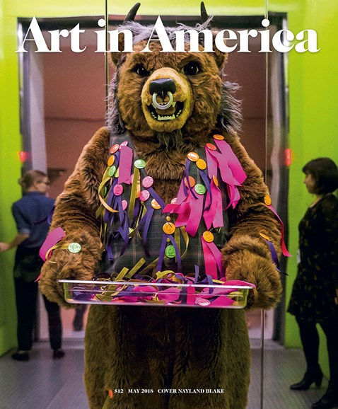Art In America Cover - 5/1/2018