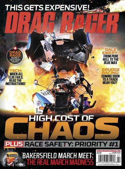 Drag Racer Cover - 7/1/2018