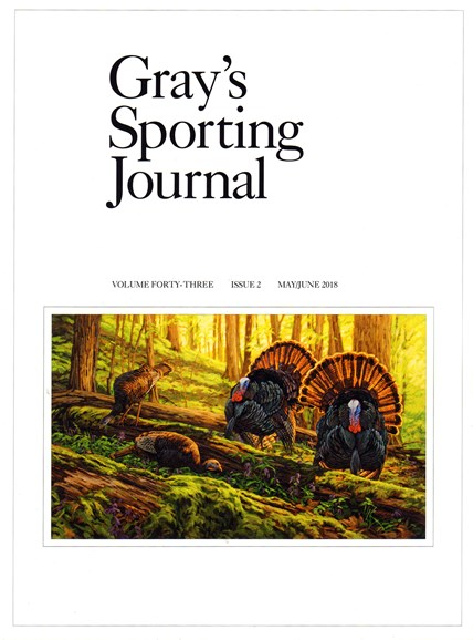 Gray's Sporting Journal Cover - 5/1/2018