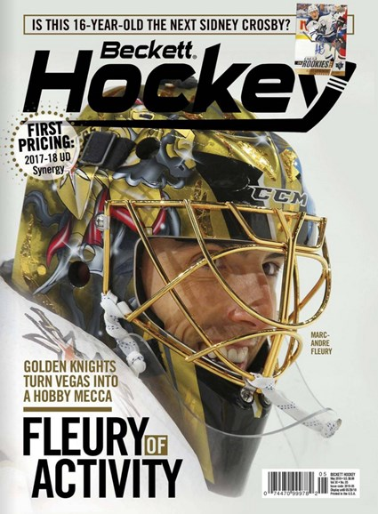Beckett Hockey Cover - 5/1/2018