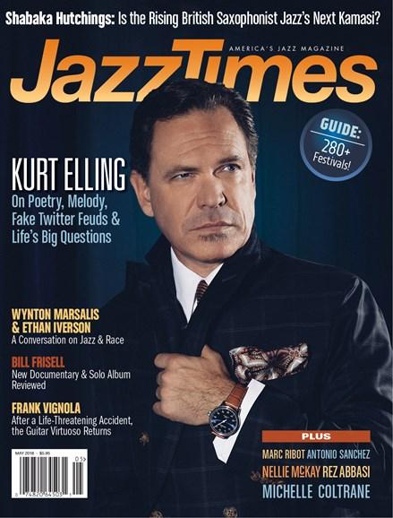 JazzTimes Cover - 5/1/2018