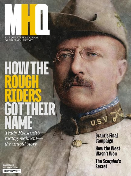 MHQ: Military History Quarterly Cover - 6/1/2018