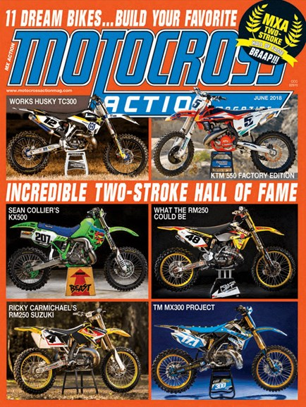 Motocross Action Cover - 6/1/2018