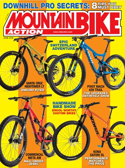 Mountain Bike Action Cover - 6/1/2018