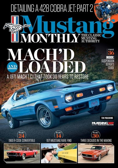 Mustang Monthly Cover - 6/1/2018