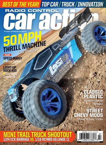 Radio Control Car Action Cover - 7/1/2018