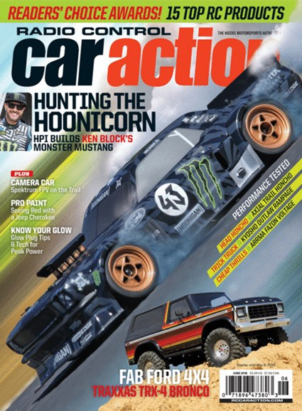 Radio Control Car Action Cover - 6/1/2018