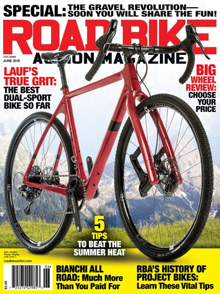 Road Bike Action Cover - 6/1/2018