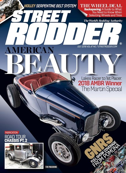 Street Rodder Cover - 7/1/2018