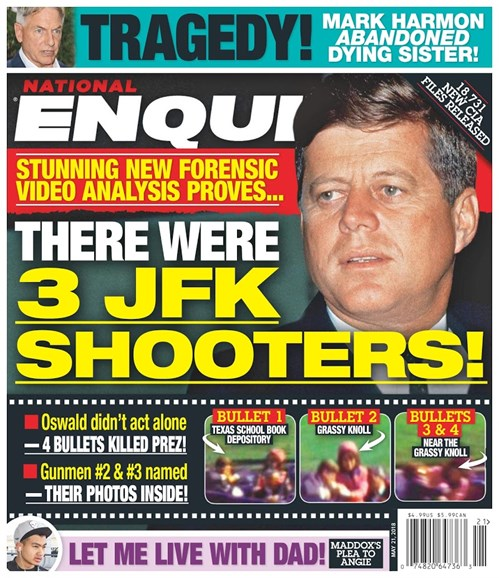 National Enquirer Cover - 5/21/2018