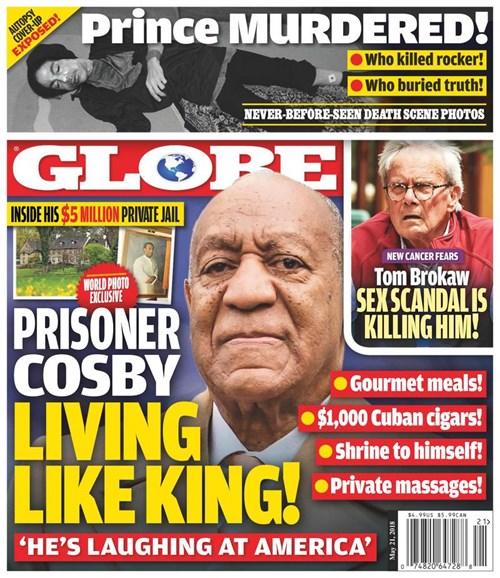 Globe Cover - 5/21/2018