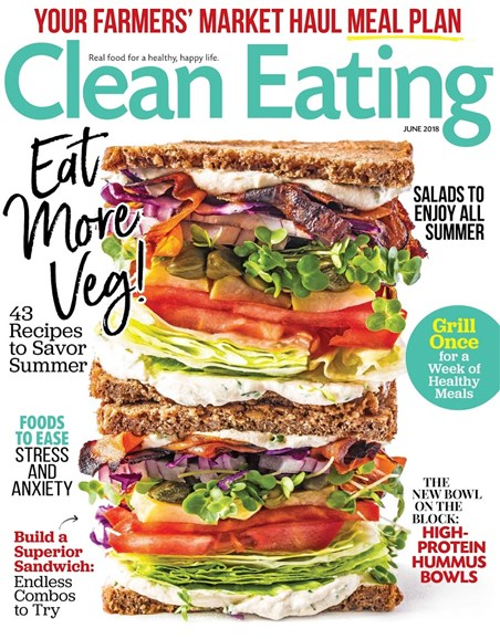 Clean Eating Cover - 6/1/2018