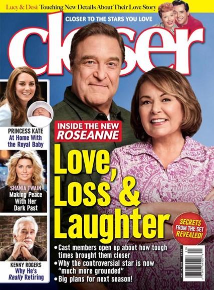 Closer Cover - 5/14/2018