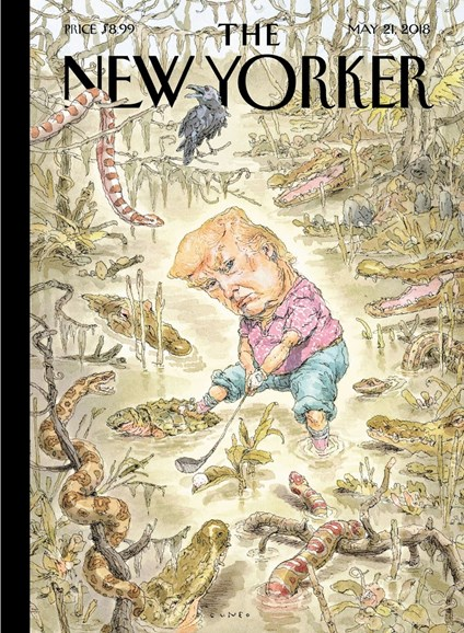 The New Yorker Cover - 5/21/2018
