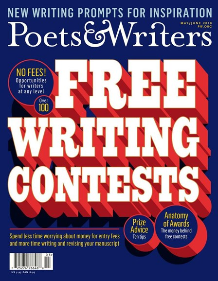 Poets & Writers Cover - 5/1/2018