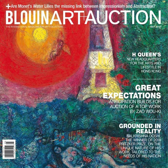 Blouin Art & Auction Cover - 5/1/2018