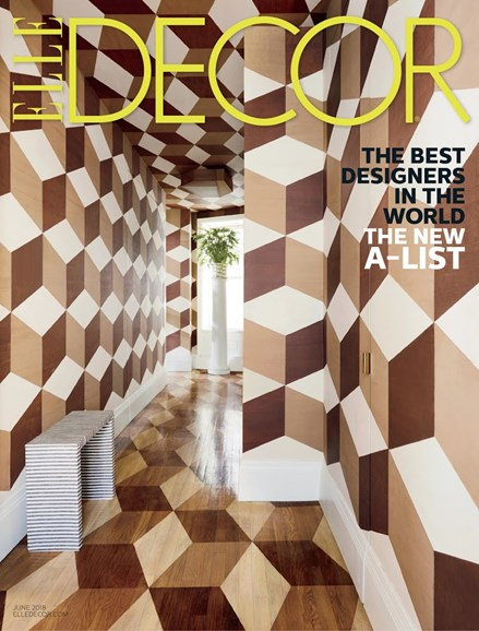 ELLE DECOR Cover - 6/1/2018