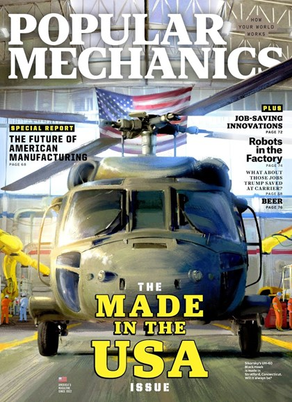 Popular Mechanics Cover - 6/1/2018