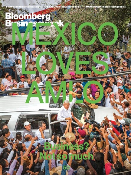 Bloomberg Businessweek Cover - 5/14/2018