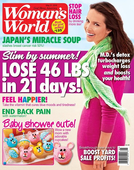 Woman's World Cover - 5/21/2018