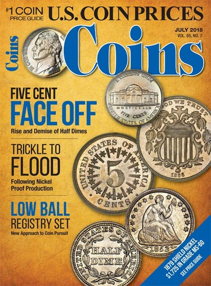 Coins Cover - 7/1/2018