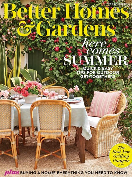 Better Homes & Gardens Cover - 6/1/2018