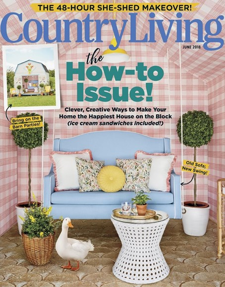 Country Living Cover - 6/1/2018